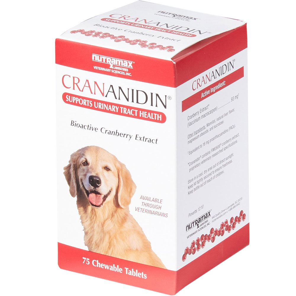 Crananidin Urinary Tract Support (75 Chewable Tablets) im test