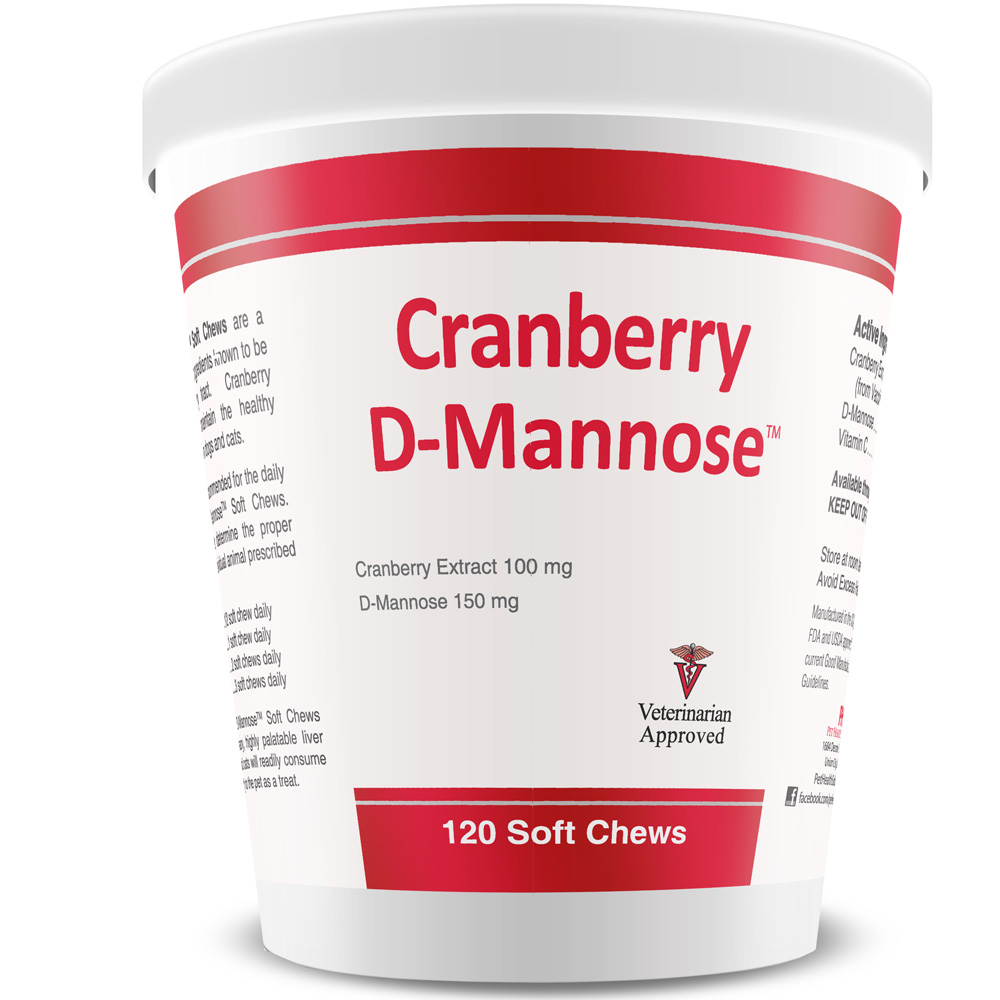 Cranberry D-Mannose Urinary Tract Support (120 Soft Chews) im test