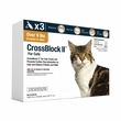 CrossBlock II for Cats and Kittens Over 9 Pounds - Orange Label (3 Month)
