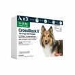 CrossBlock II for Dogs and Puppies 11 to 20 Pounds - Green Label (3 Month)