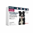 CrossBlock II for Dogs and Puppies 21 to 55 Pounds - Red Label (3 Month)