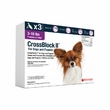 CrossBlock II for Dogs and Puppies 3 to 10 Pounds - Purple Label (3 Month)