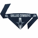 Dallas Cowboys Dog Bandana - Tie On (Large)
