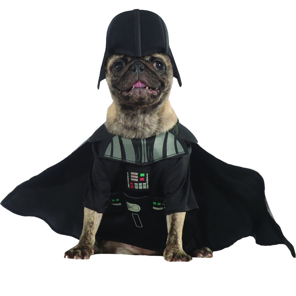 Darth Vader Dog Costume - Small im test