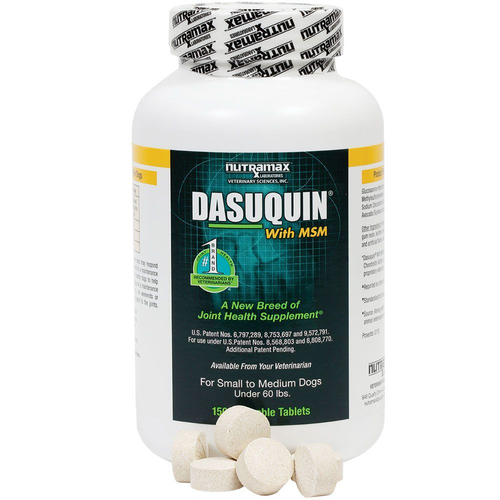 Dasuquin for Small/Medium Dogs under 60 lbs. with MSM (150 Chewable Tabs) im test