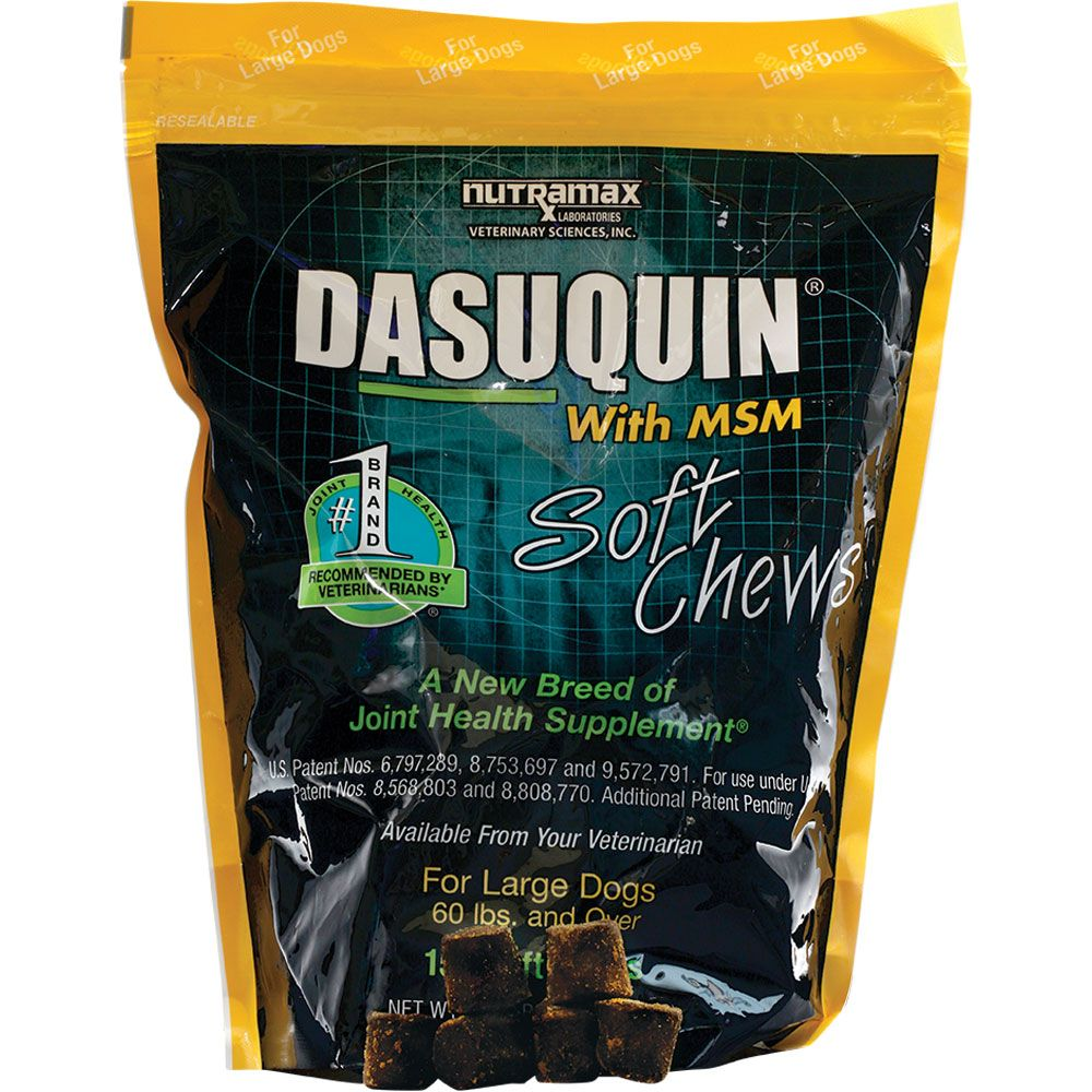 Dasuquin Soft Chews for Large Dogs with MSM (150 Chews) im test