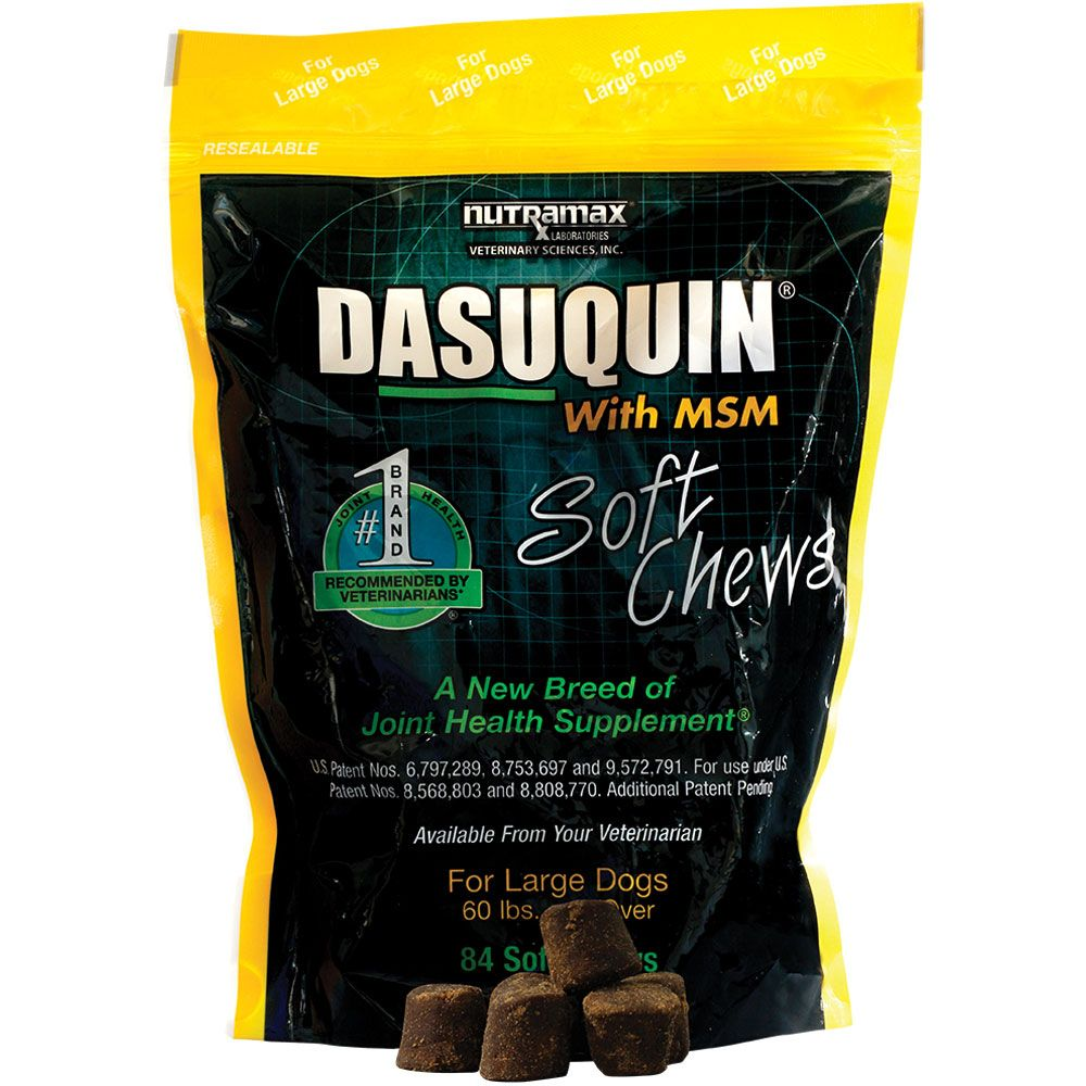Dasuquin Soft Chews for Large Dogs with MSM (84 Chews) im test
