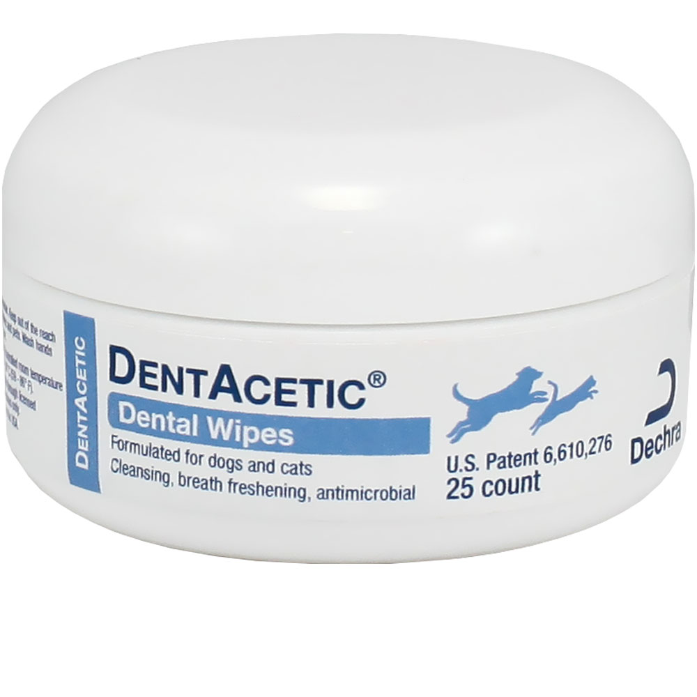 Dechra Dentacetic Dental Wipes (25 count) im test