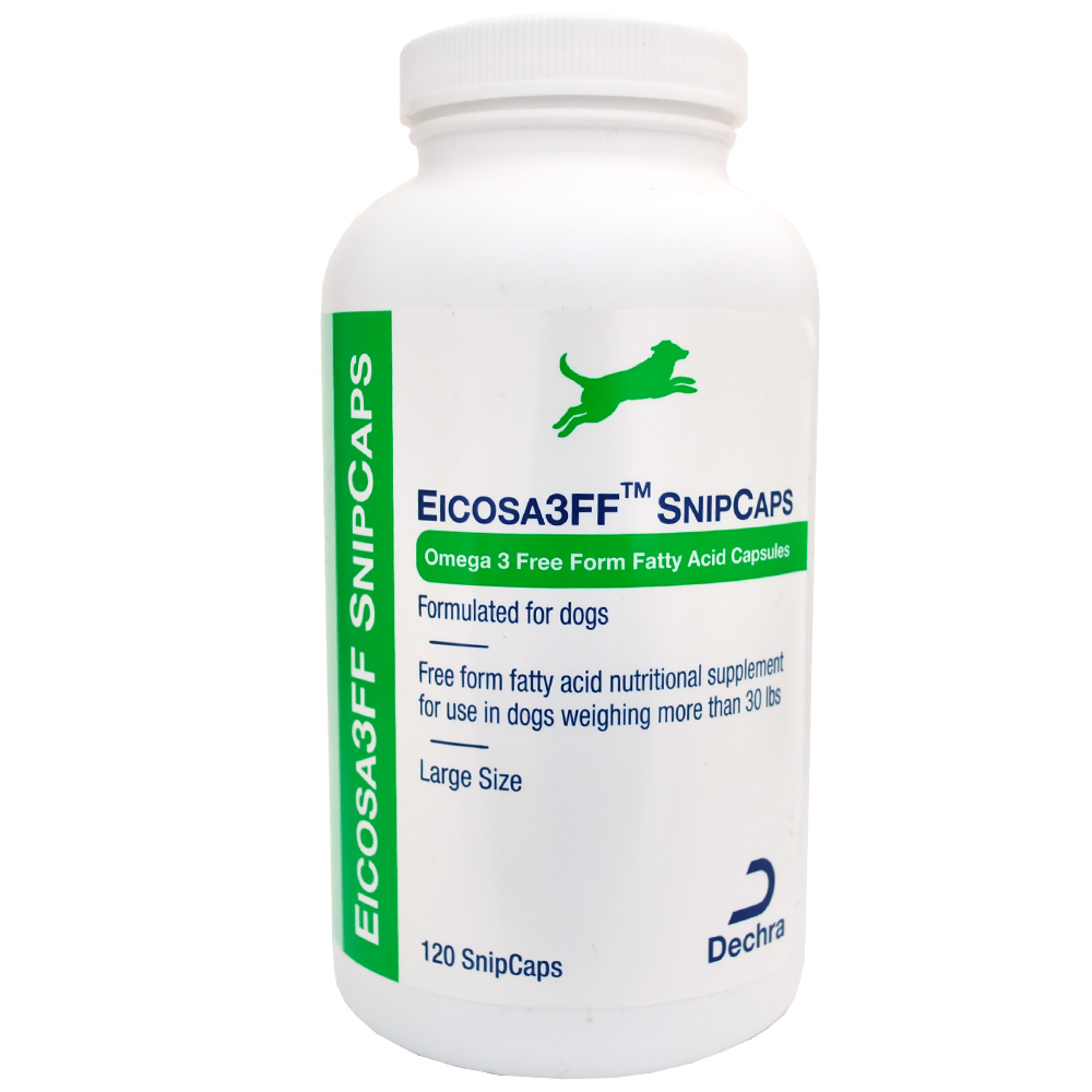 Dechra Eicosa 3FF SnipCaps - Large Dogs over 30 lbs (120 count) im test