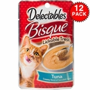 Delectables Bisque Lickable Treat for Cats (Box of 12)