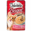 Delectables Bisque Lickable Treat for Cats - Tuna & Chicken (1.4 oz)