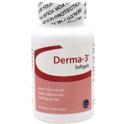 Derma-3 Small Breed Softgels 60 ct