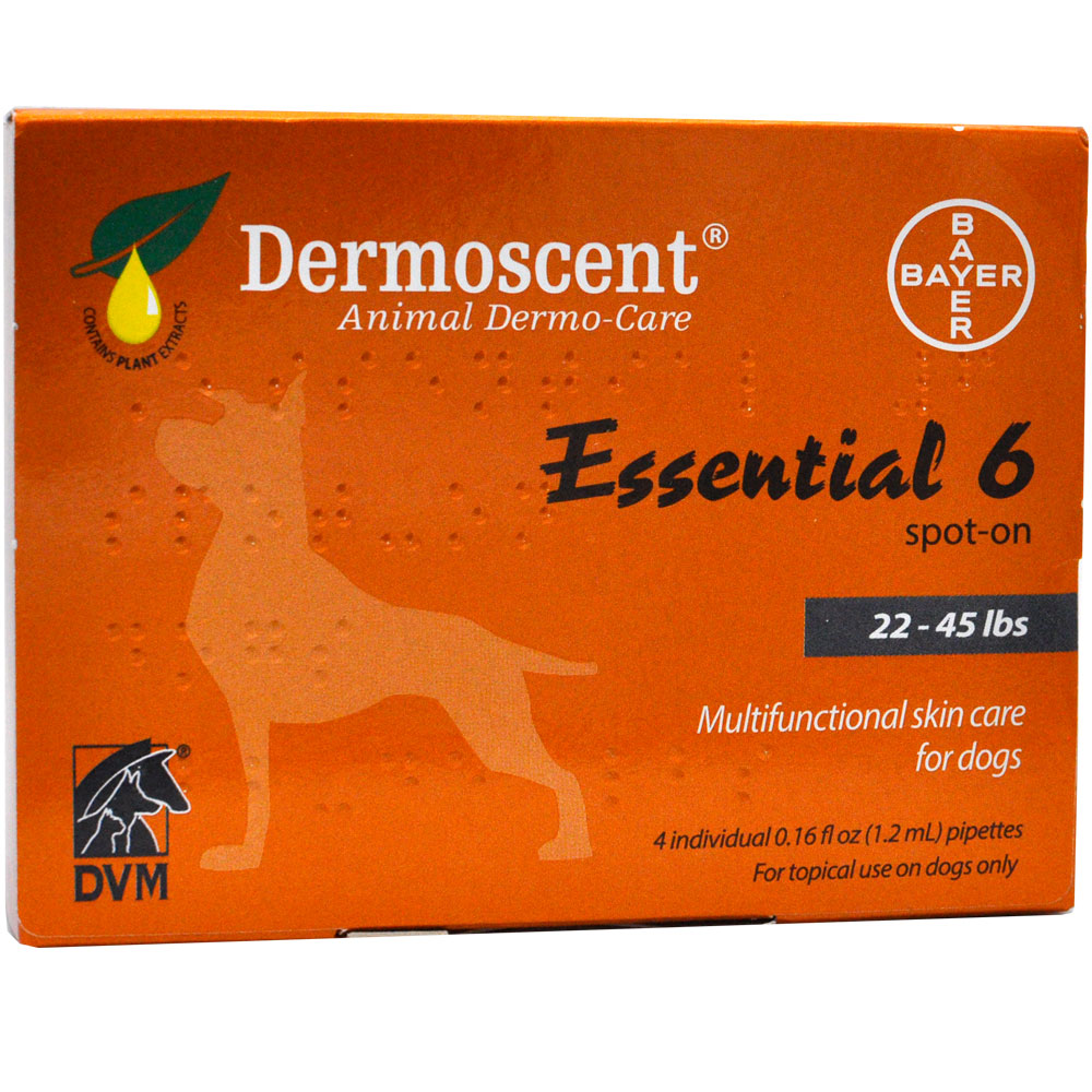 Dermoscent Spot-On Skin Care for Medium Dogs (22-45 lbs)