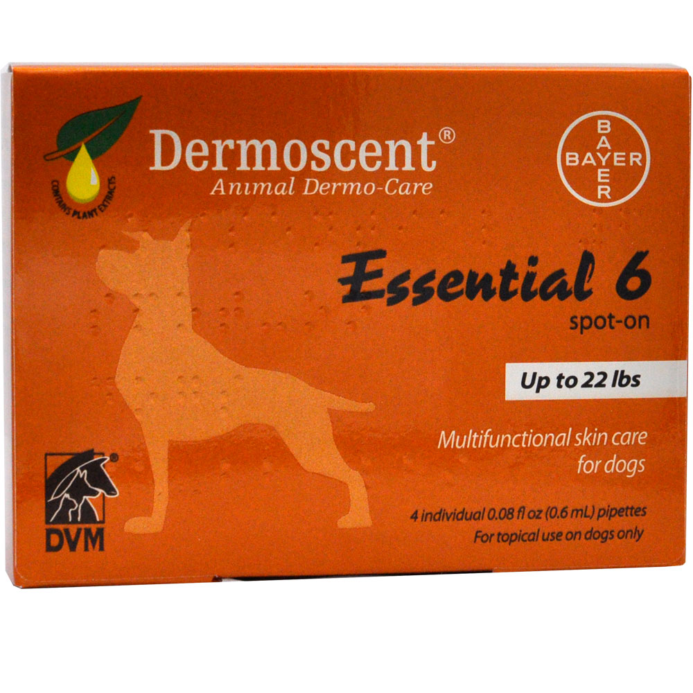Dermoscent Spot-On Skin Care for Small Dogs (Up to 22 lbs) im test