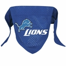 Detroit Lions Dog Bandana - Large