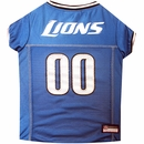 Detroit Lions Dog Jersey - Small
