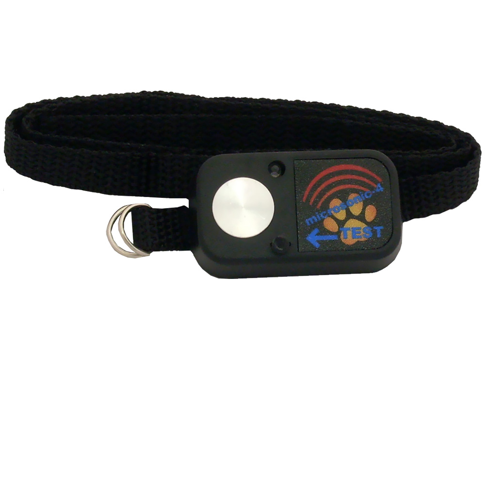 Image of Digital MS-4 Water-Resistant Ultrasonic Pet Collar