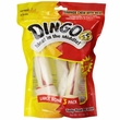 Dingo Meat in the Middle Rawhide Chew - Large Bones (3 pack)