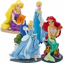 Disney Princesses Aquarium Ornament Set