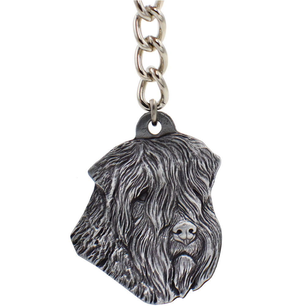 """Dog Breed Keychain USA Pewter - Soft-Coated Wheaten Terrrier (2.5"""")"" im test"