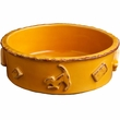Dog Food/Water Bowl - Medium Caramel