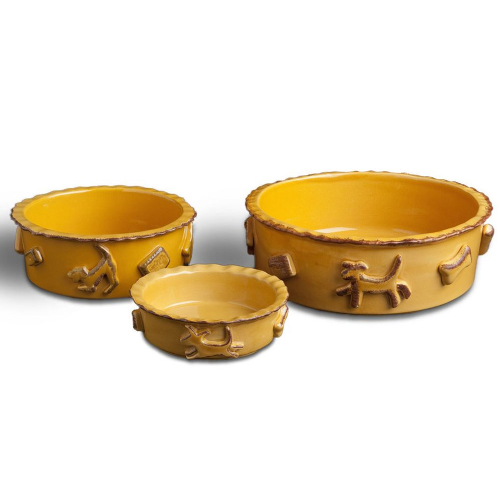 DOG-FOOD-WATER-BOWL-SMALL-CARAMEL