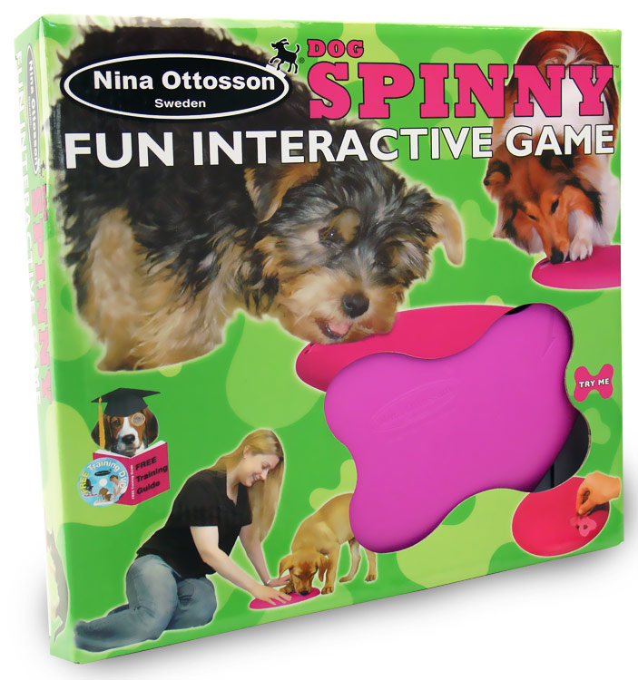 Dog & Cat Spinny Interactive Pet Toy im test
