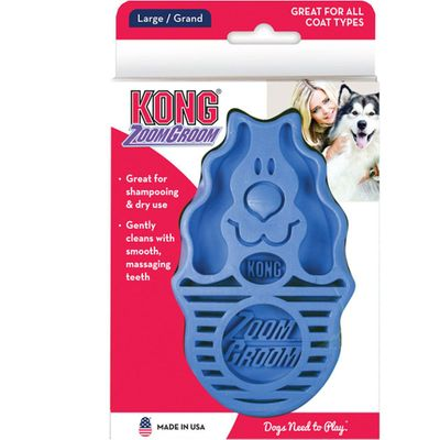 KONG Boysenberry Zoomgroom Firm