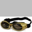 Doggles ILS - Interchangeable Lens System - Gold Frame/Smoke Lens