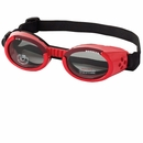 Doggles ILS Shiny Red Frame Smoke Lens - Small