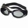 Doggles Originalz Black Frame Smoke Lens - Medium