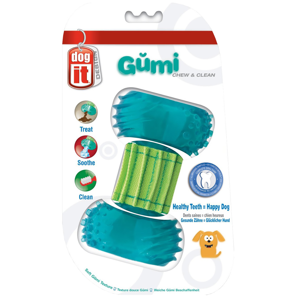 Image of Dogit Design Mini Gumi Dental Toy - Chew & Clean