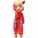 Dogit Zombie Fever Vinyl Dog Toy - Pig