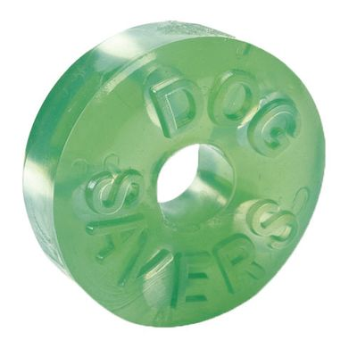 """Dogsavers Tire with Treat Stations Medium 3.5"""" (Assorted)"""
