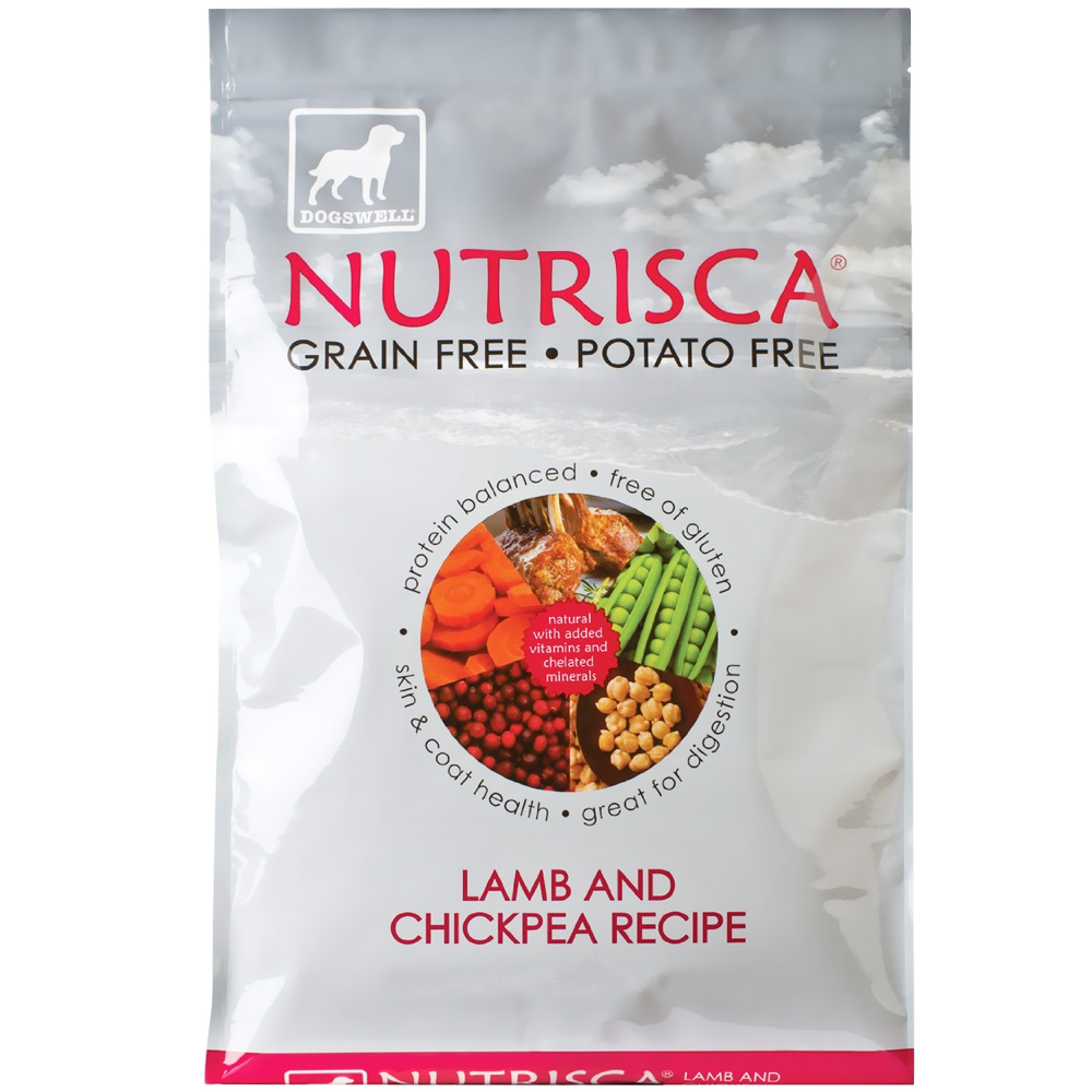 Dogswell NUTRISCA Lamb & Chickpea Dry Dog Food (28 lbs) im test