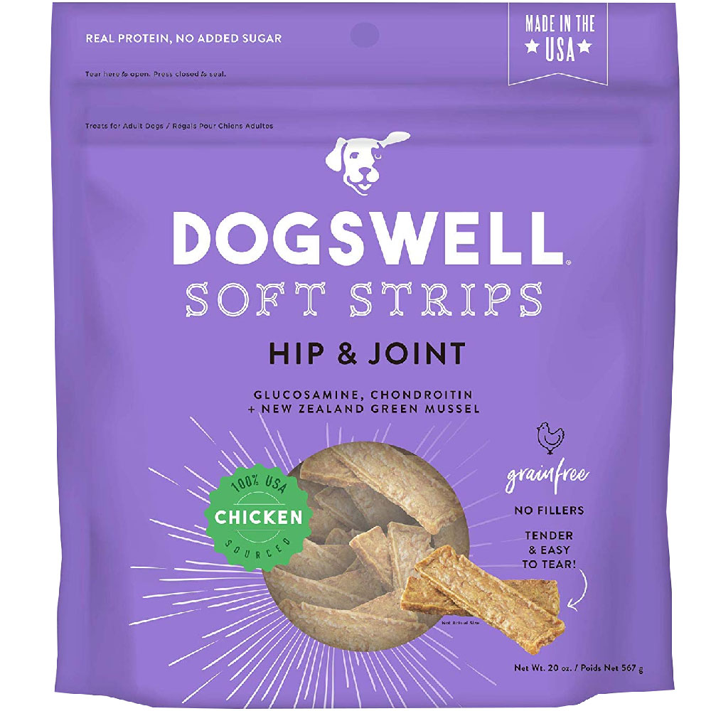 Dogswell Soft Strips Hip & Joint - Chicken (20 oz) im test