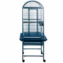 """Dome Top Bird Cage - Blue (18""""x18""""x51"""")"""