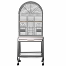 """Dome Top Cage with 1"""" Bar Spacing in Stainless Steel (36""""x28""""x65"""")"""