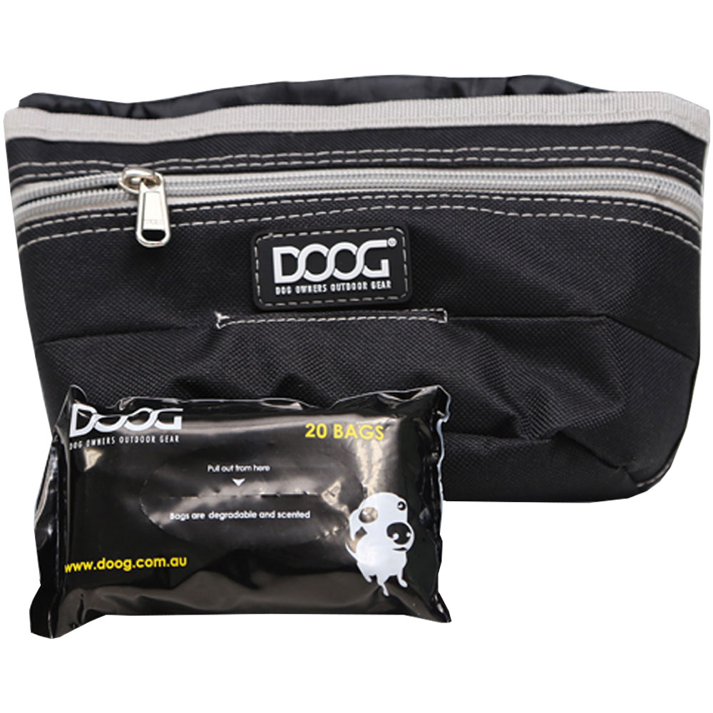 DOOG-TREAT-POUCH-BLACK-LARGE