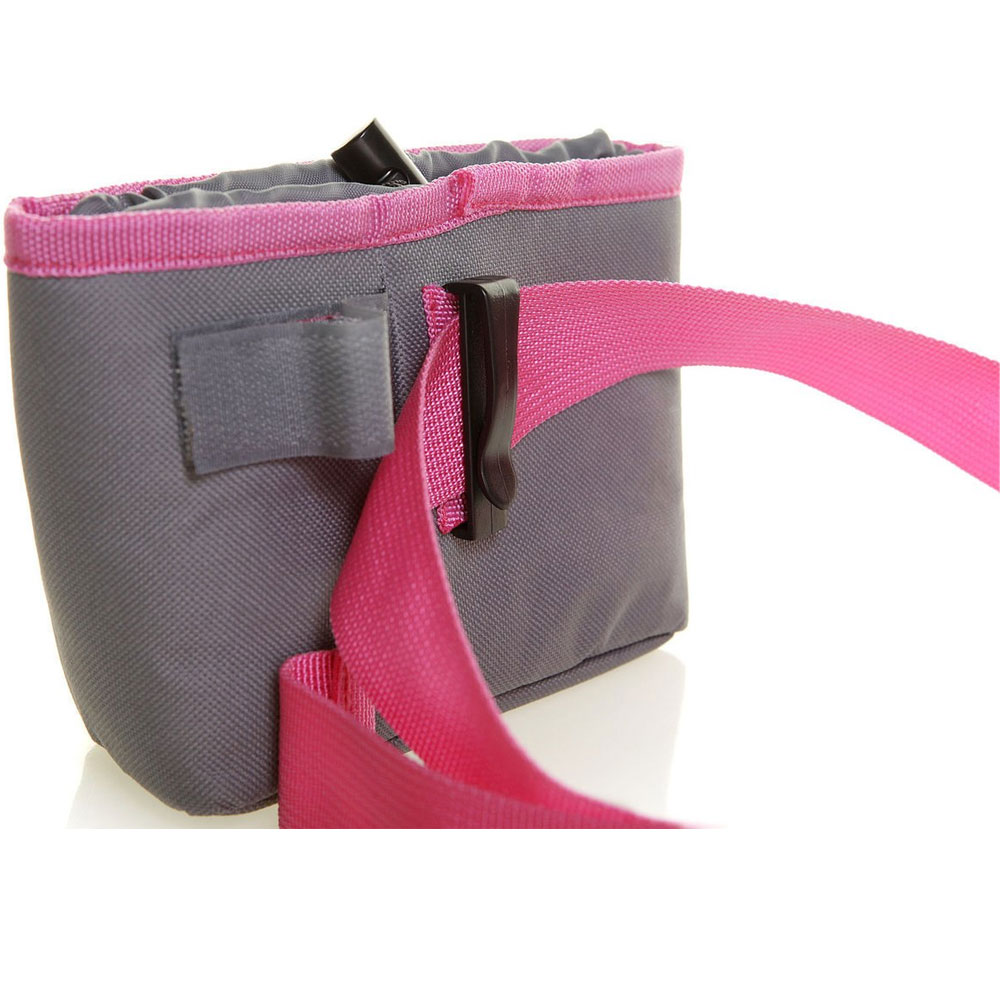 DOOG-TREAT-POUCH-GREY--PINK-LARGE