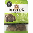 Dozers Dental Chews for Dogs 20-50 lbs - Horned Toad (6 Medium Chews)