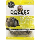 Dozers Dental Chews for Dogs 5-20 lbs - Horned Toad (12 Small Chews)