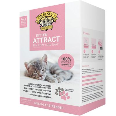 Dr. Elsey's Kitten Attract Training Cat Litter (20 lb)