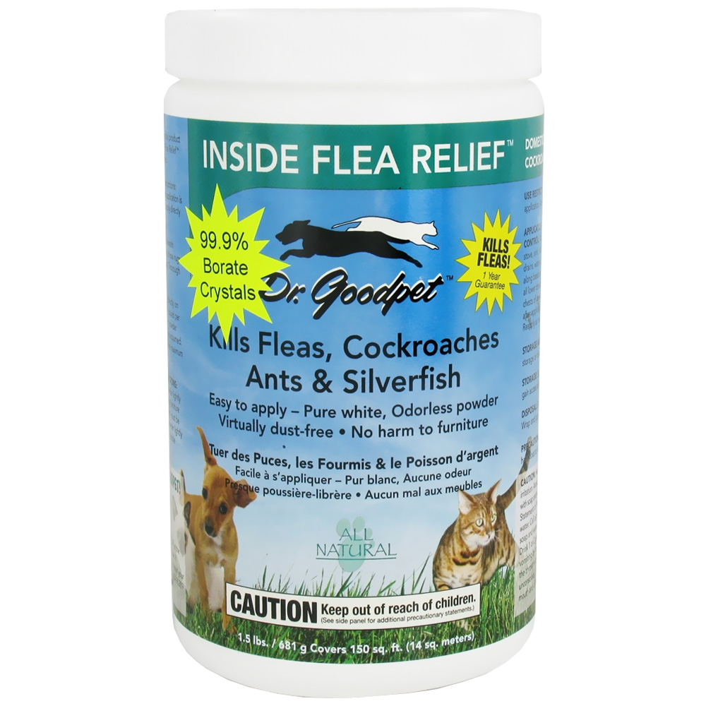 Image of Dr. Goodpet Inside Flea & Relief (1.5 lbs)