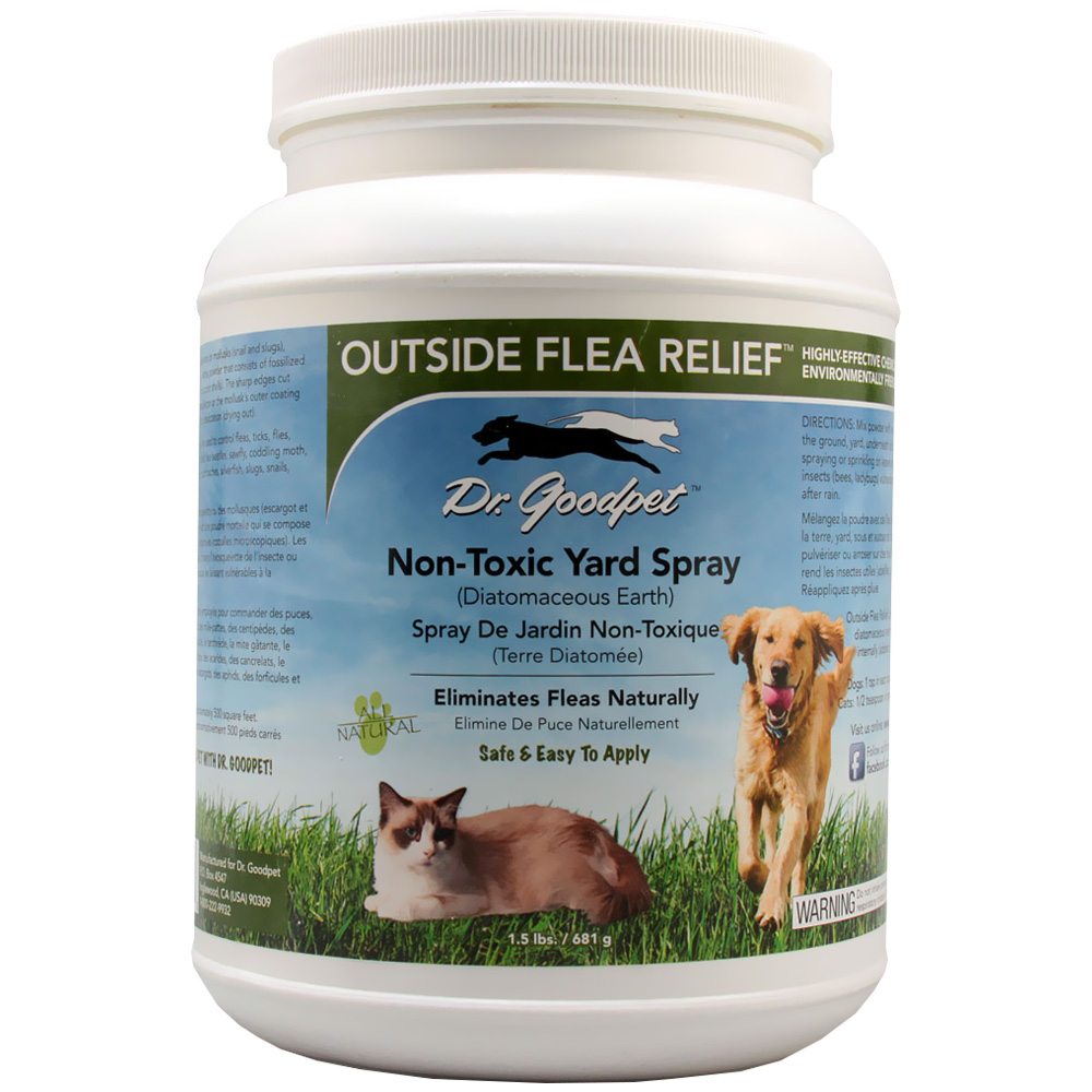 Image of Dr. Goodpet Outside Flea & Relief (1.5 lbs)