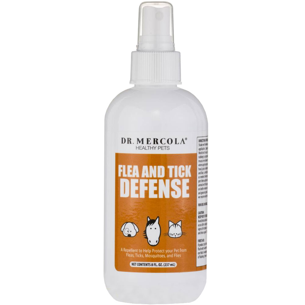 Dr. Mercola Flea & Tick Defense