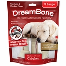 DreamBone Chicken Chews - Large (3 Pack)
