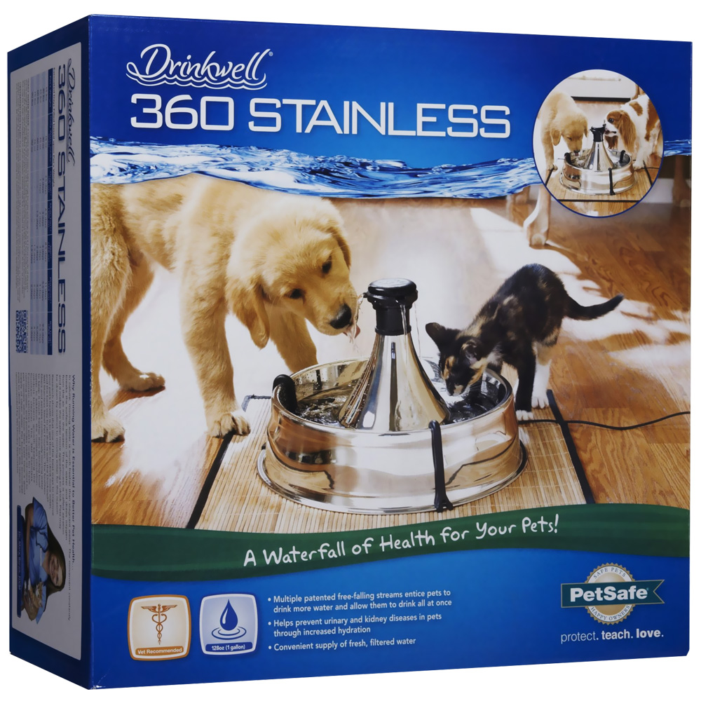 Drinkwell 360 Fountain Stainless Steel im test