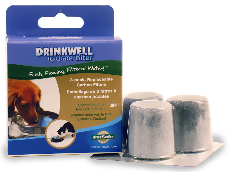 Drinkwell Hy-Drate H2O Filtration System Filters (3 pack) im test