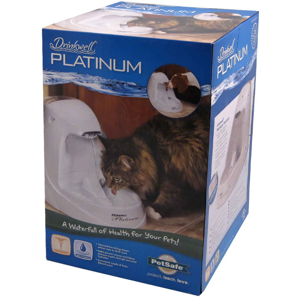 Drinkwell Platinum Pet Fountain im test